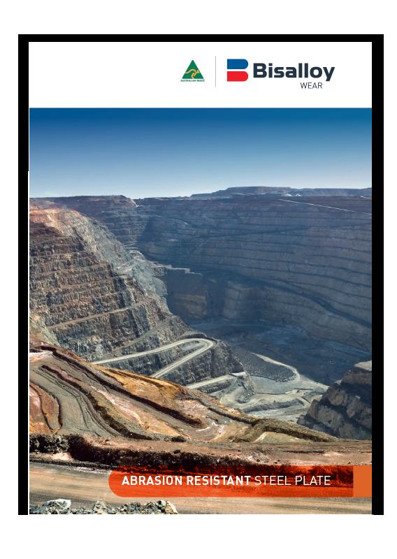 BISALLOY® Wear steel Brochure